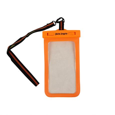 Palm Angels // Plastic Waterproof Phone Case // Orange