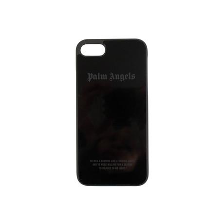 Palm Angels // Logo iPhone 8 Case // Black