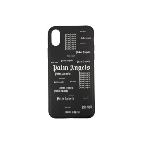 Palm Angels // Logo iPhone X Case // Black