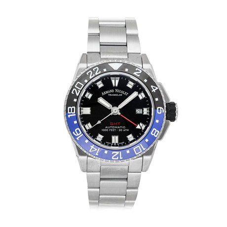 Armand Nicolet JS9 GMT Automatic // A486AGN-NR-MA4480AA // New