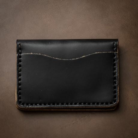 5 Card Wallet // Black