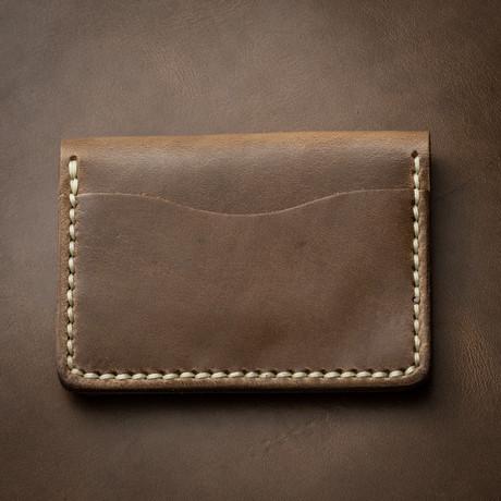 5 Card Wallet // Driftwood