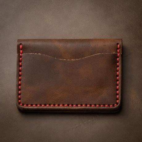 5 Card Wallet // Heritage Brown
