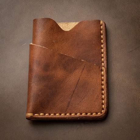 Card Holder // English Tan