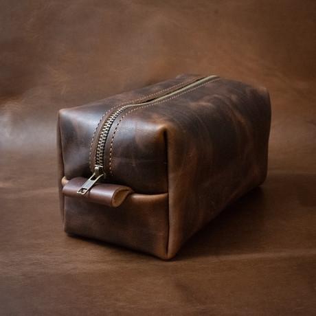 Large Dopp // Heritage Brown