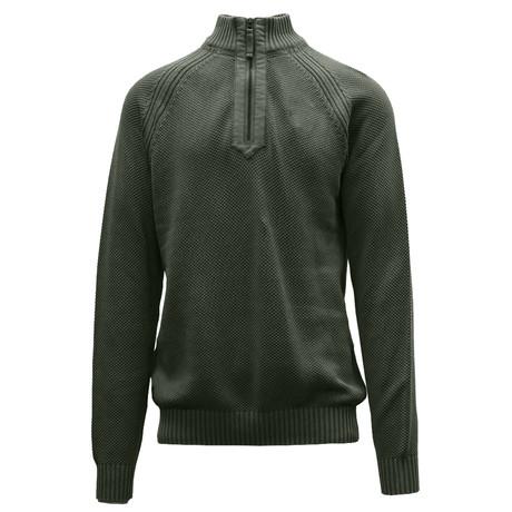Quail Sweater // Tactical Green (S)