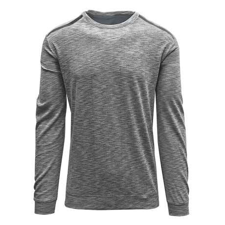 Rockwell Sweater // Cool Gray + Charcoal (S)