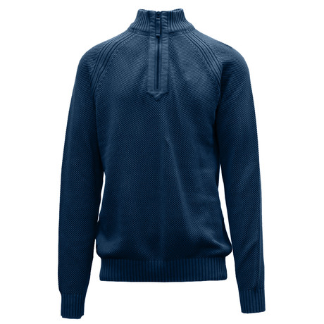 Quail Sweater // Navy (S)