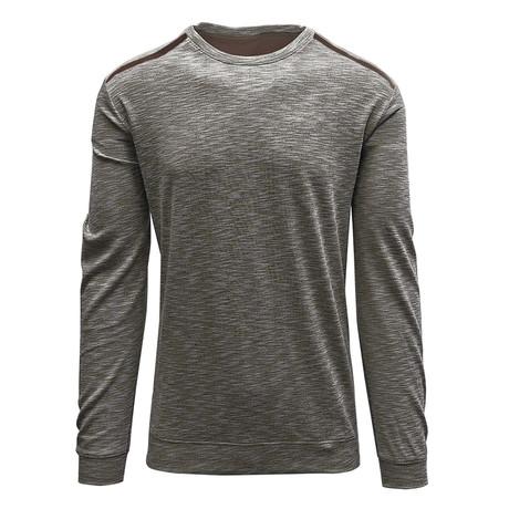Rockwell Sweater // Silk White + Java (S)