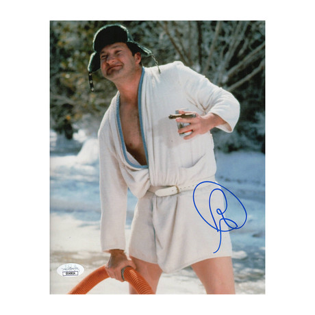 """Autographed Photo // National Lampoon's Christmas Vacation """"Cousin Eddie"""" // Randy Quaid"""