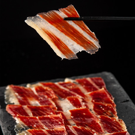 50% Iberico Grain-Fed Bone-In Ham Free Range + Ham Holder