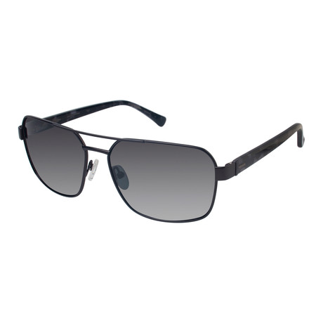 Navigator Polarized Sunglasses // Dark Gunmetal