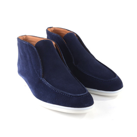 Low Cut Boot // Navy Suede (US: 7)