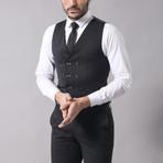 Jesse 3-Piece Slim Fit Suit // Smoked (Euro: 48)