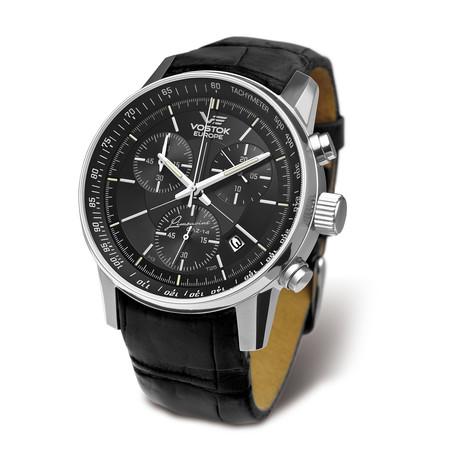 Vostok-Europe Gaz Limo Chronograph Quartz // 6S30/5651174