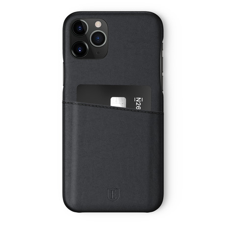 iPhone 11Pro Phone Case // Nappa Black