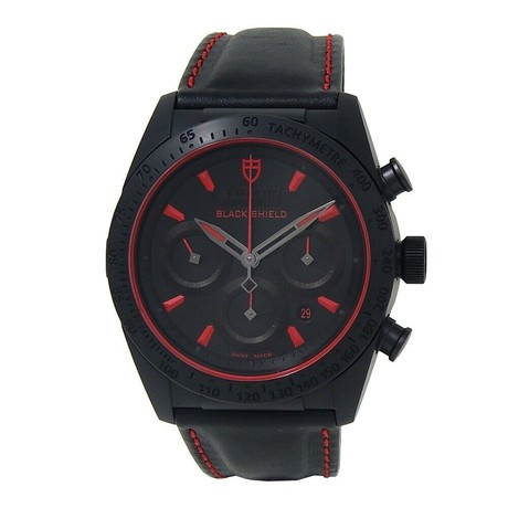 Tudor Fastrider Black Shield Chronograph Automatic // 42000CR // New