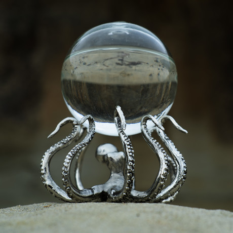 OctoStand + Glass Orb