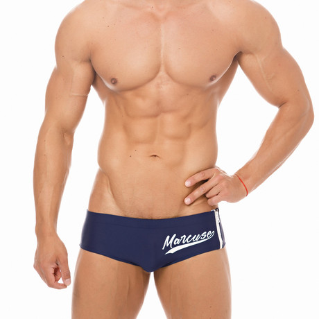 Adonis Speedo // Navy (X-Small)