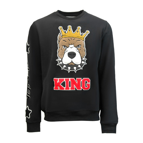 King Crewneck // Black (S)