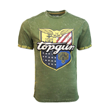 Insignia' Tee // Olive (S)