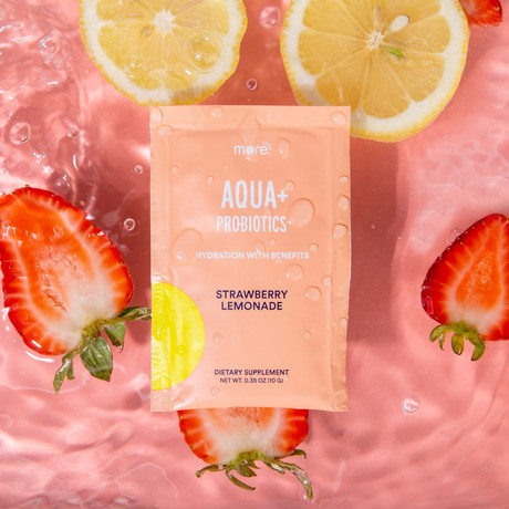 Aqua+ Probiotics Strawberry Lemonade (15 Pack)
