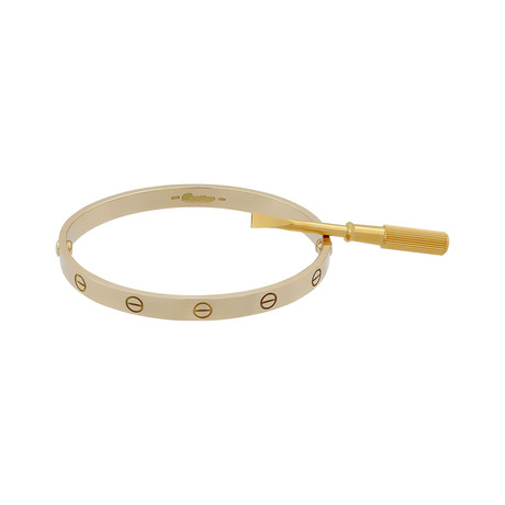 Cartier 18k Yellow Gold Love Bracelet // Pre-Owned