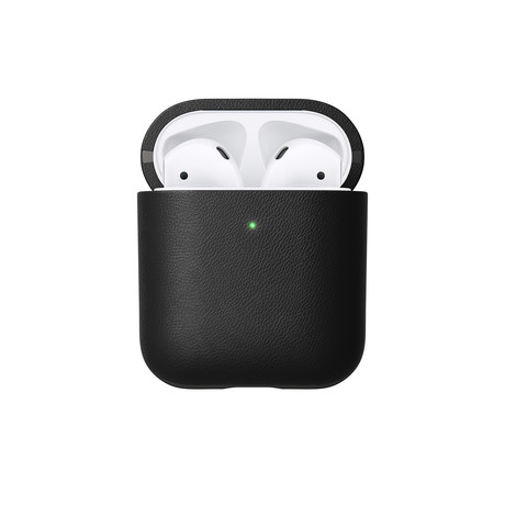 Active Leather Case // AirPods (Black)
