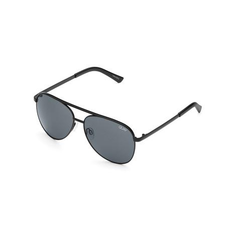 Unisex Vivienne Sunglasses // Black + Smoke