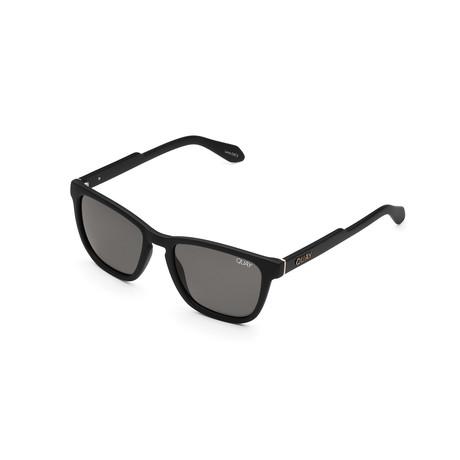 Men's Hardwire Polarized Sunglasses // Black + Smoke