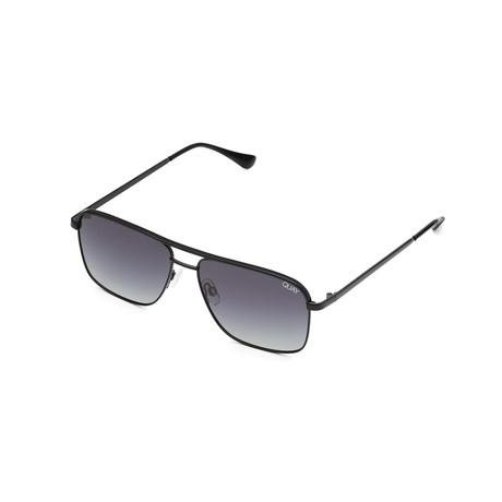 Men's Poster Boy Polarized Sunglasses // Black + Smoke