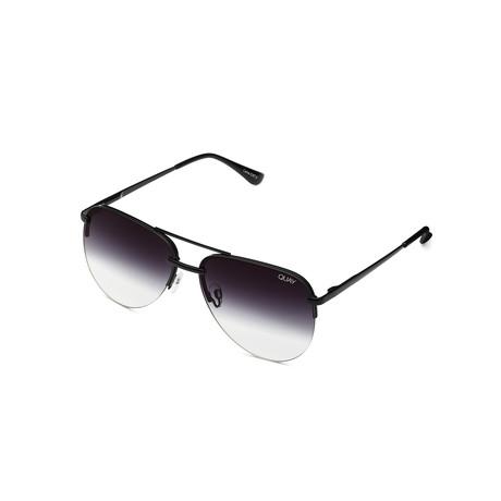 Unisex The Playa Mini Sunglasses // Black