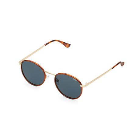 Men's Omen Polarized Sunglasses // Orange Tortoise + Navy