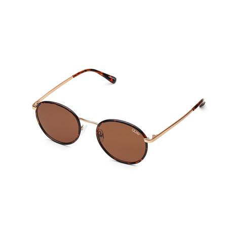 Men's Omen Polarized Sunglasses // Tortoise + Brown