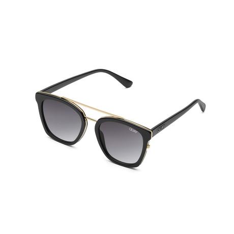 Women's Sweet Dreams Sunglasses // Black + Smoke