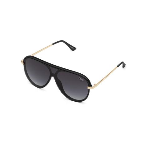 Women's Empire Sunglasses // Black + Smoke