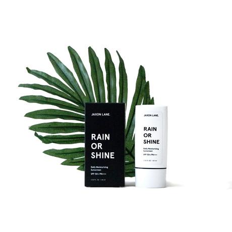 Rain Or Shine // Daily Moisturizing Sunscreen