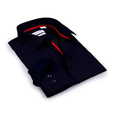 Carter Button-Up Shirt // Navy (S)