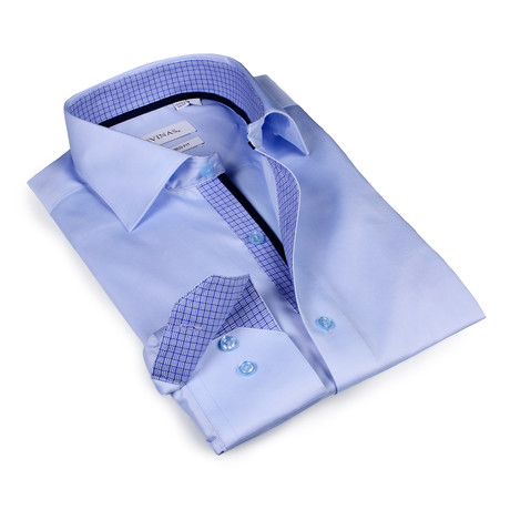 Nathan Button-Up Shirt // Light Blue (S)