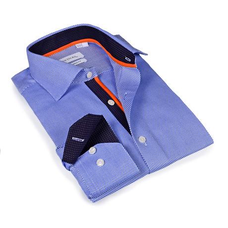 Owen Button-Up Shirt // Light Blue (S)