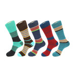 Himalayas Boot Socks // Pack of 5