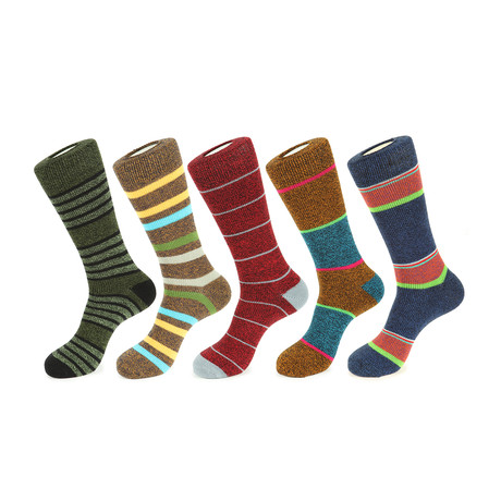 Blue Ridge Boot Socks // Pack of 5