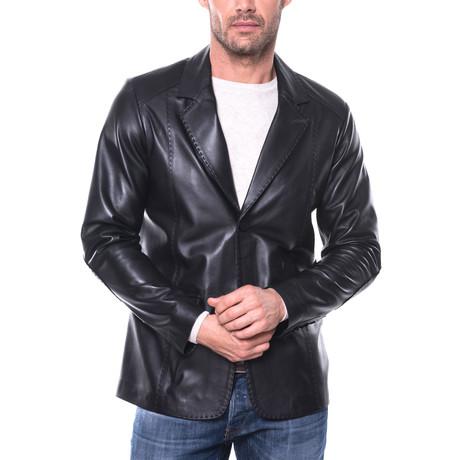 Broome Leather Jacket // Black (S)