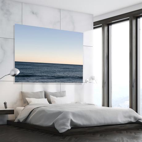 "Horizon Blue // High Gloss Panel (12""W x 15""H x 0.5""D)"