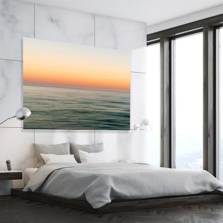 """Horizon Gold // High Gloss Panel (12""""W x 15""""H x 0.5""""D)"""