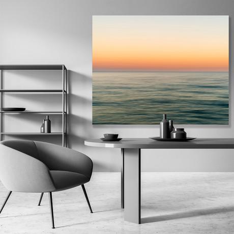 "Horizon Gold // Canvas (12""W x 15""H x 2""D)"