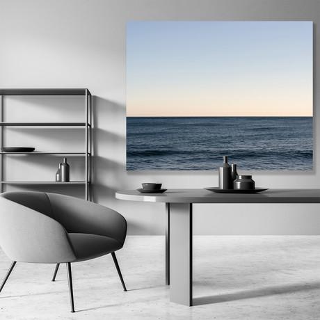 "Horizon Blue // Canvas (12""W x 15""H x 2""D)"