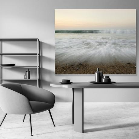 "Gentle Waves // Canvas (12""W x 15""H x 2""D)"