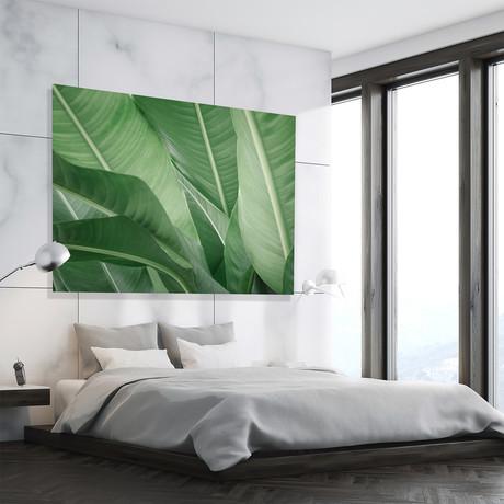 """Green Beauty // High Gloss Panel (12""""W x 15""""H x 0.5""""D)"""