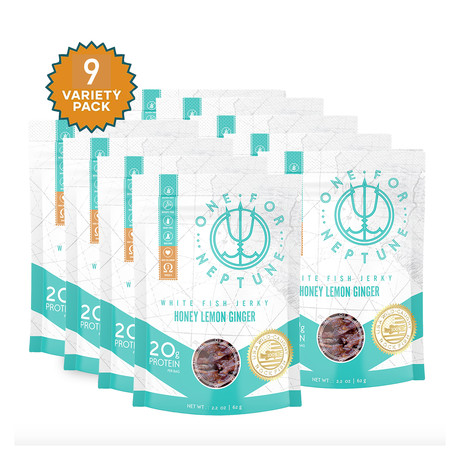 OneForNeptune Sea Jerky // Honey Lemon Ginger (3 Pack)